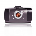 TEER H8 HD 5.0 MP CMOS 180' Wide Angle Night Vision Camcorder - Black + Coffee