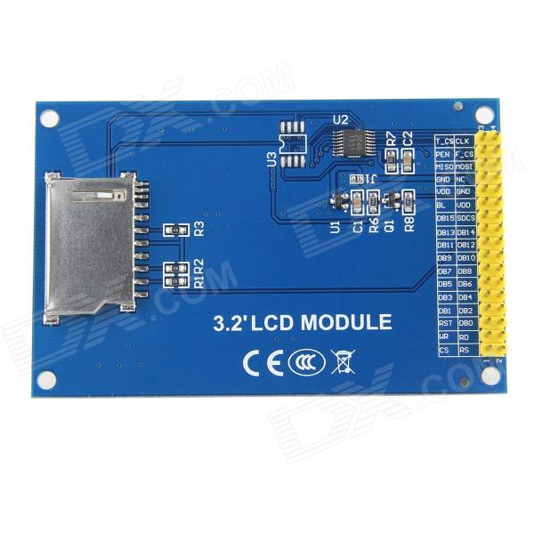 3 2 TFT LCD Touch Screen Module for for STM32F4 Discovery