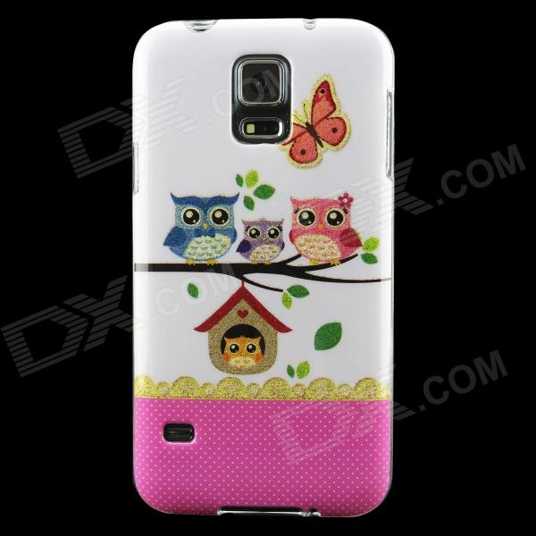 все цены на Owls Pattern Protective TPU Back Case for Samsung Galaxy S5 онлайн