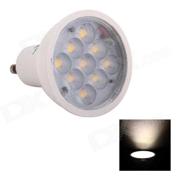 JoYda GU103ww GU10 3W 312lm 3200K 9-SMD 2936 LED Warm White Light Spotlight - White (AC 85~245V)