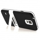 ENKAY Protective TPU Case w/ Stand for Samsung Galaxy S5 Mini G800 - Black