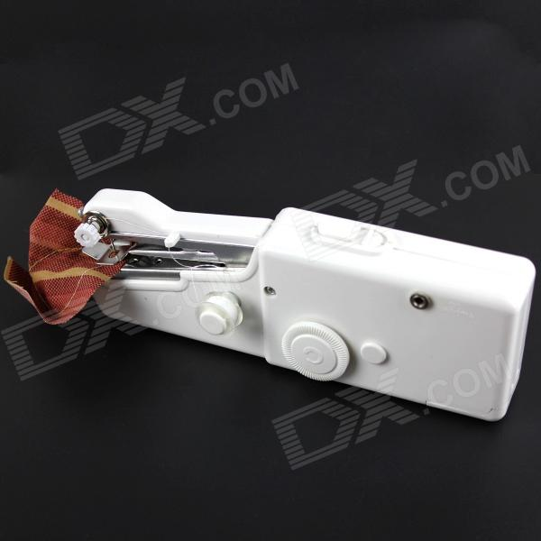 Handheld Household Mini Sewing Machine - White