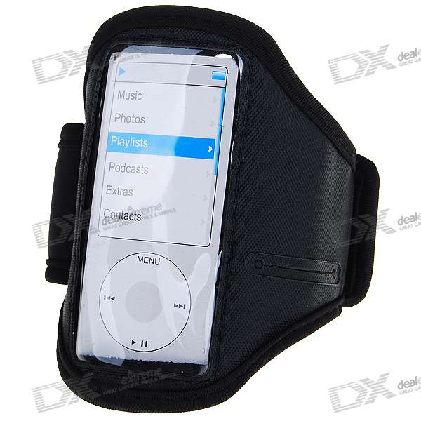 Trendy Sports Armband for Ipod Nano 4/5 (Black)