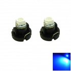 HONSCO T3 0.2W 15lm 490nm 3528 SMD LED Blue Light Car Dash Board Instrument Lamp (DC 12V / 2PCS)