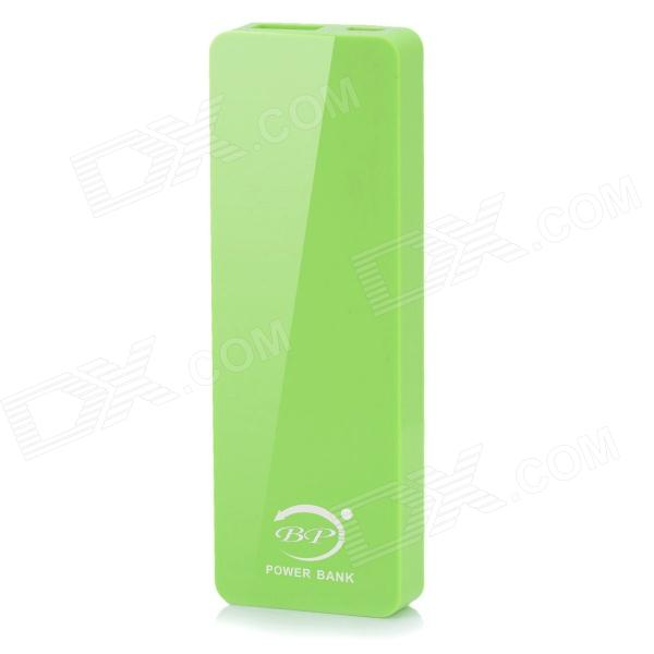 BP 4000mAh Ultra-thin Li-polymer Mobile Power Source for IPHONE 6 / 5S / Samsung - Green polymer lithium battery 11000mah 3 7v ultra large capacity mobile power charging treasure a core li ion cell