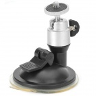 Universal Car Suction Cup Mount Holder for IPHONE / Samsung / HTC/ Camera - Black + Silver