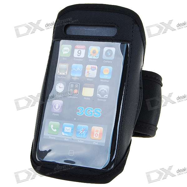 Trendy Sports Armband for Iphone 2G/3G/3GS (Black)