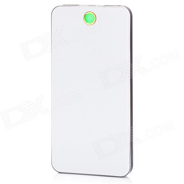 BP-6L Ultra-thin 8000mAh Dual-USB Mobile Power Source Bank for IPHONE / Samsung / HTC bp 15000mah dual usb mobile power source bank for iphone 5s samsung htc white green