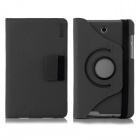 ENKAY 360' Rotation Protective Case w/ Card Slots for Asus Fonepad 7 / ME372CG - Black