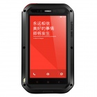 LOVE MEI AL01 Aviation Aluminum Alloy Case for XiaoMi Redmi Note - Black
