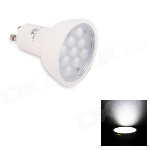 JoYda GU103wh GU10 3W 320lm 6200K 9-SMD 2936 LED White Light Spotlight - White (AC 85~245V)