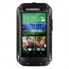 LOVE MEI AL01 Waterproof Shockproof  Aviation Aluminum Alloy Case for HTC ONE E8 - Black