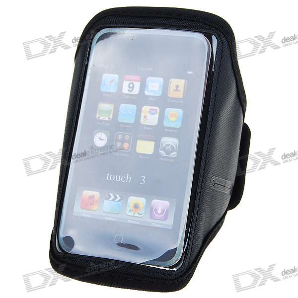 Trendy Sports Armband for Ipod Touch 1/2/3 (Black)