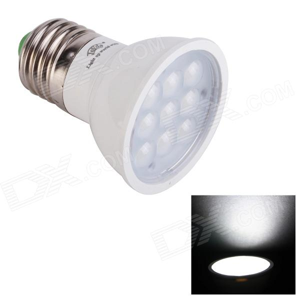 JoYda E273wh E27 3W 320lm 6200K 9-SMD 2936 LED White Light Spotlight - White (AC 85~245V)