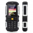 "MANN ZUGS IP-67 Waterproof Dustproof Shockproof Rugged GSM Phone w/ 2.0"" Screen - Black + Gray"