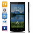 "JK-740 MTK6592 Octa-Core-Android 4.4.2 WCDMA Bar Telefon w / 5,5 ""HD, 8GB ROM, FM, GPS - White + Black"