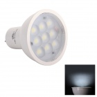 JoYda MR163wh MR16 3W 320lm 6200K 9-SMD 2936 LED White Light Spotlight - White (DC 12V)