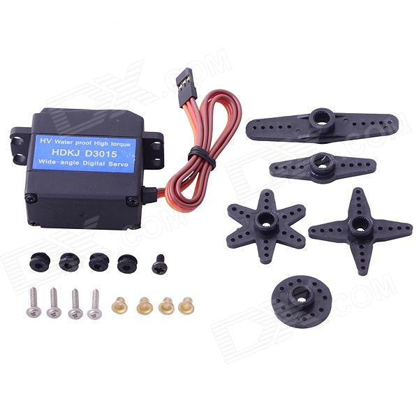 HDKJ D3015 High Precision Metal Gear High Torque Wide-angle Digital Waterproof Robot Servo