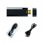 Langaton 1080P HDMI Mirror Wifi Näyttö Airplay / Miracast / DLNA / Ezcast Dongle TV Stick - Musta