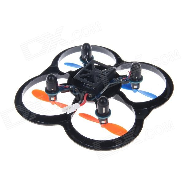 360 Degree Eversion Mini Radio Control 4-CH Hexrcopter w/ Gyroscope - Black + Orange + Blue