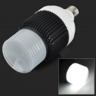 E27 30W 1920lm 6000K 5 - COB LED White Light Lamp - Hvit + Svart (AC 85 ~ 265V )