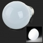 E27 5W 400lm 6500K 16-SMD 2835 LED White Light Bulb - White + Silvery Grey (AC 220~240V)