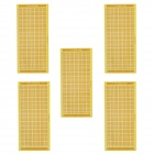 10 x 22cm Fiber PCB Boards - Light Green + Golden (5PCS)