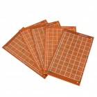 9cm x 15cm Universal PCB Punching Hole Test Boards - Brown (5 PCS)