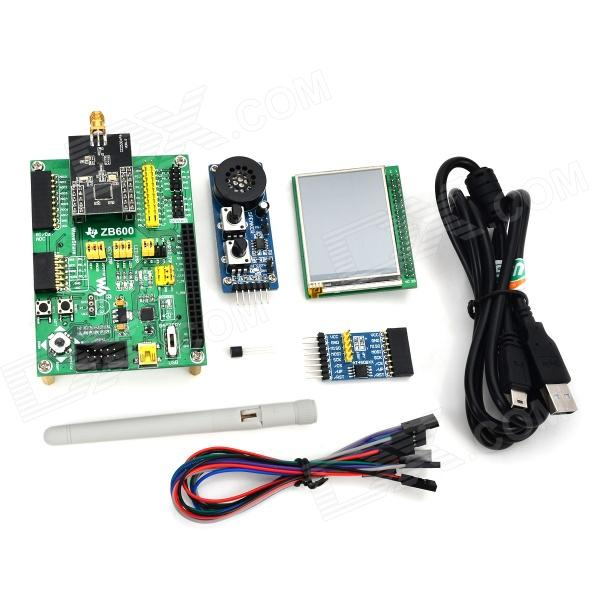 Waveshare CC2530 zigbee Development Board Module Kit - Green uart serial port to zigbee wireless module cc2630 chip drf1609h with pa 1 6km