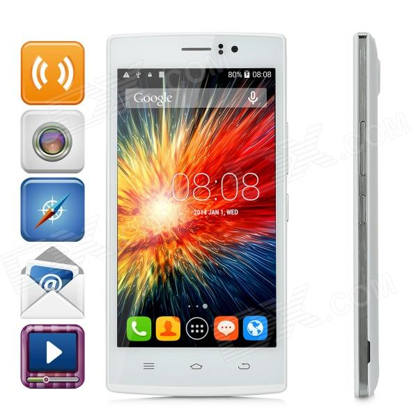 THL L969 Android 4.4 Quad-core 4G FDD-LTE Phone w/ 5.0 IPS, Wi-Fi, ROM 8GB / GPS - White zopo zp1000 android 4 2 octa core wcdma bar phone w 5 0 screen wi fi and rom 16gb blue black
