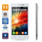"THL L969 Android 4.4 Quad-core 4G Bar Phone w/ 5.0"" IPS, Wi-Fi, ROM 8GB and GPS - White"