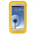 Waterproof Shockproof Snowproof PC + Silicone Case for Samsung Galaxy S3 i9300 - Yellow
