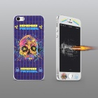 Angibabe Embossed Big Skull Pattern Front and Back Protectors Set for IPHONE 5 / 5S