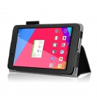 HighPro Protective PU Leather Case w/ Handle Strap for LG G Pad 7.0'' V400 - Black