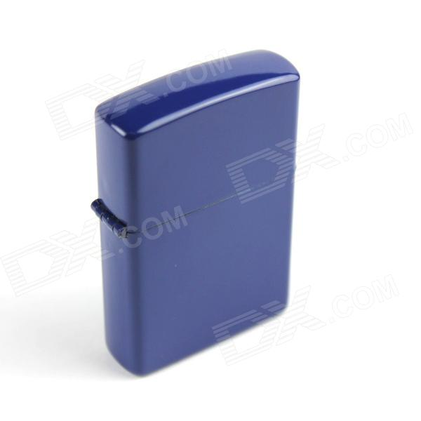 Retro Luxurious Kerosene Lighter - Navy Blue