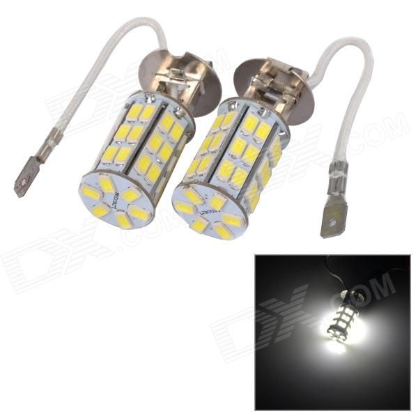 SENCART H3 12W 420lm 6500K 5730 SMD LED White Light Car de jour de la lampe du film (DC 12 ~ 16V / 2PCS)