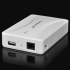 3G / 4G Wireless Router / 5200mAh Mobile Power Bank - Blanc