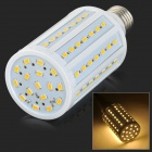 E6-1886 E27 18W 1500lm 3500K 86-SMD 5630 LED Warm White Corn Lamp - White + Yellow (110~220V)