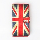 Retro UK National Flag Pattern Flip Open Case w/ Stand / Card Slots for Samsung Galaxy S5 Mini