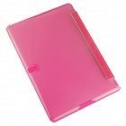 Hat-prince Protective 3-Fold Case w/ Holder for Samsung Galaxy Tab S 10.5 T800 - Deep Pink