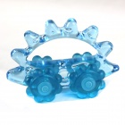 Car Style Plastic + Rubber Manually Massager - Blue