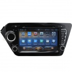 ZN-K201 8'' Capactive HD Touch Screen Android 4.2 Car DVD Player w/ GPS Navigator for KIA K2 - Black