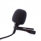 GPJ - 01 Mini USB Professional Microphone for GOPRO Hero 4 / 3+ / 3 - Black