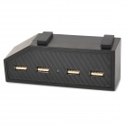 HHC-X1016 1-to-4 4-Port USB HUB for XBOX ONE - Black