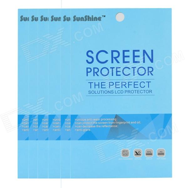 Matte Protective PET Screen Protectors for Motorola Moto E - Transparent (6 PCS)