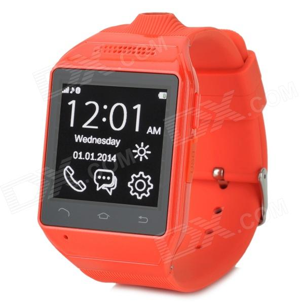 AS9 1.54 Screen GSM Single Core Bluetooth V2.0 Smart Watch Phone w/ TF Slot - Red