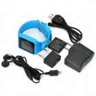 "AS9 1.54"" Screen GSM Single Core Bluetooth V2.0 Smart Watch Phone w/ TF Slot - Blue"