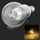XUNRUIXING LZ-2003 E14 3W 270lm 3000K 6-SMD 5730 LED Warm White Light Lamp - Silver (AC 85~265V)