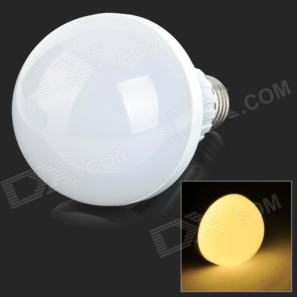 E27 9W 800lm 3500K 32-SMD 2835 LED Warm White Light Bulb - White + Silvery Grey (AC 220~240V)