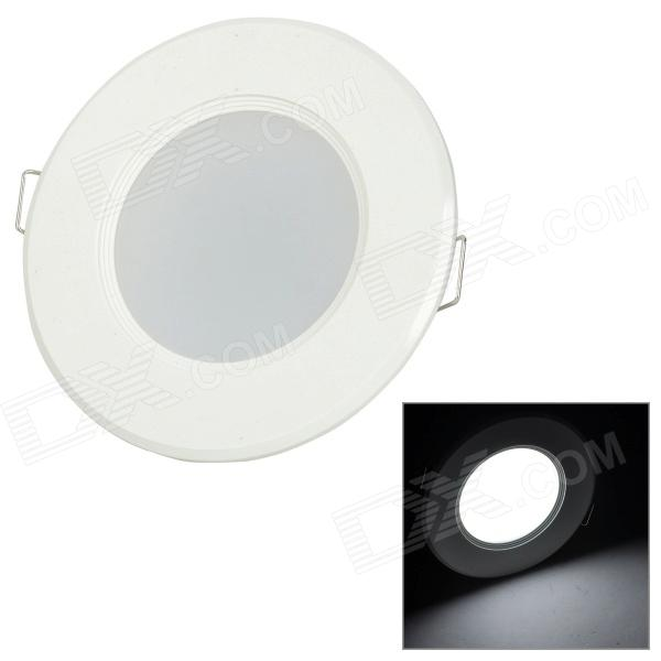 YouOKLight AB002 3W 150lm 9500K 8-SMD 5730 LED Cool White Ceiling Lamp - White (AC 220V)